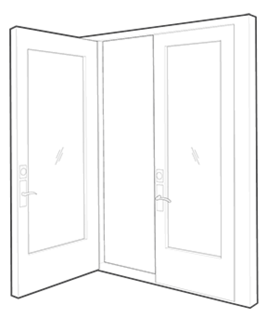 Double Swing Doors Double Swing Doors Northwest Door Sash
